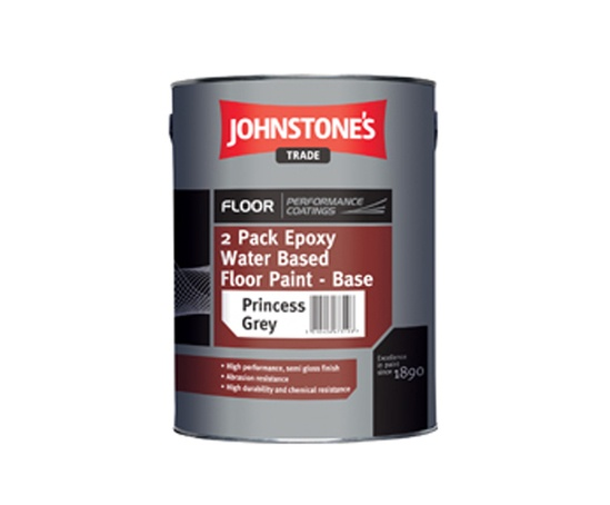 2 Pack Epoxy Water Based Floor Paint Johnstone S Trade