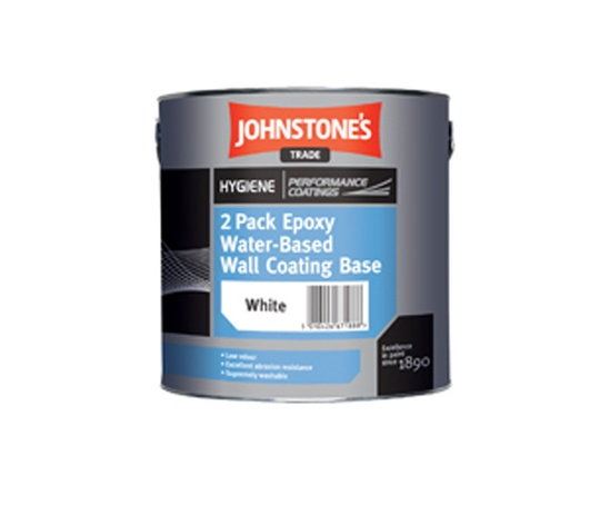 2 Pack Epoxy Water Based Wall Coating Johnstone S Trade