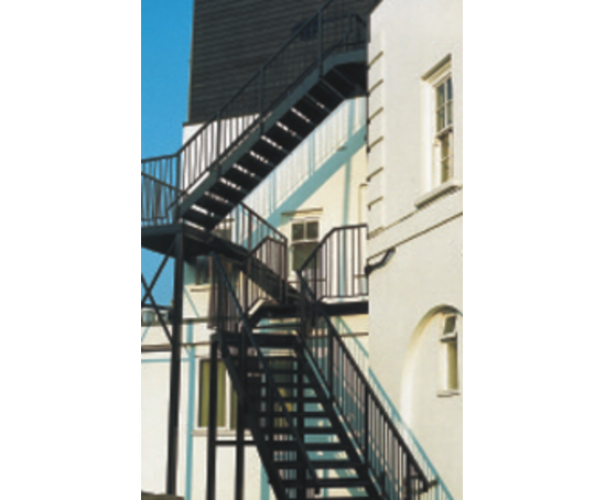 Bespoke Metal Fire Escapes Metalcraft Tottenham Esi