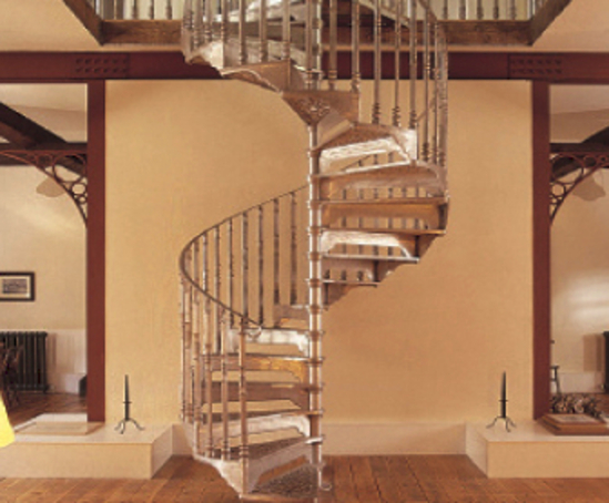 Traditional Bespoke Victorian Style Spiral Staircases