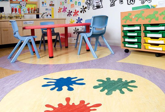 Polyflor XL PU, Abacus School