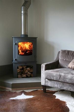 Cove 2B biomass/multi-fuel boiler stove