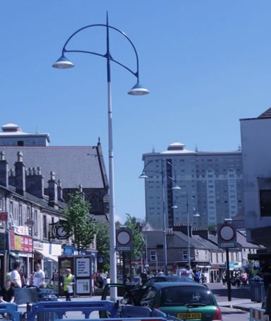 Lanark Modern Carpark Street And Amenity Luminaire