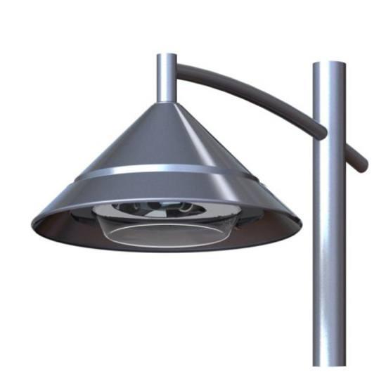 Lanark Lantern - modern LED architectural luminaire