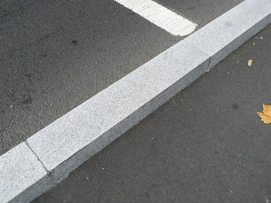 Granite kerb at  Southend Victoria Gateway