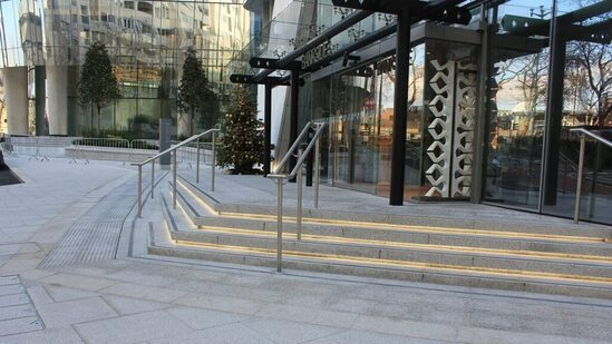 CED supplied the landscaping stone for One Blackfriars