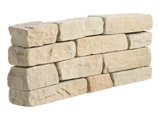 Green Sandstone Tumbled Walling