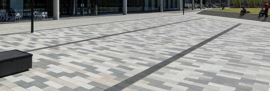 Andover Textured block paving