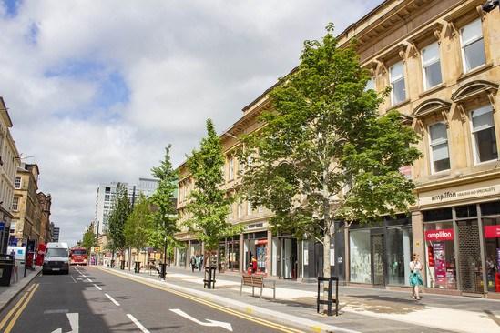 Tree system for Sauchiehall Street, Glasgow