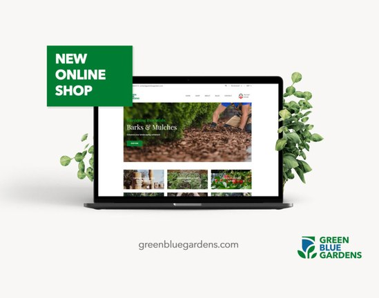 GBU's new e-commerce site is called Green Blue Gardens