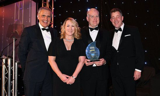 Double award win for Heald