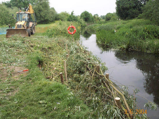 Amenity / conservation project for amenity watercourse