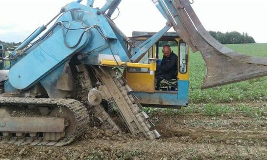 Agricultural land drainage for Thurlow Estates
