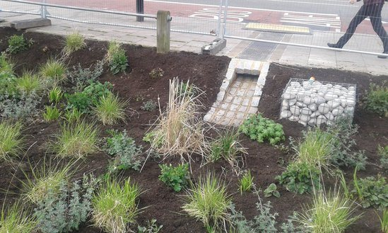 Sustainable drainage system (SUDS) for Haringey Council