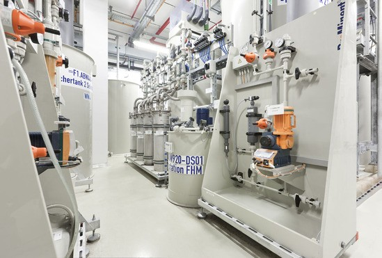 Wastewater treatment for semiconductor / electronics