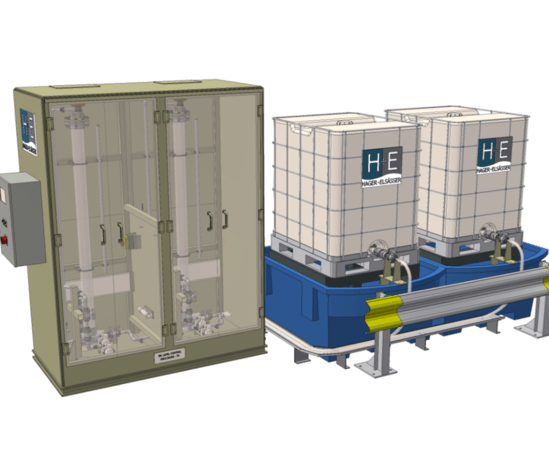 SecureChem™ IBC chemical dosing system