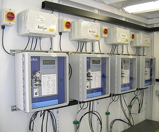 ProAm ammonia monitor, waste water application
