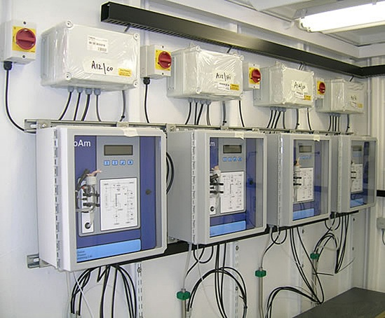 Bran Sands WwTW ammonia influent monitoring system