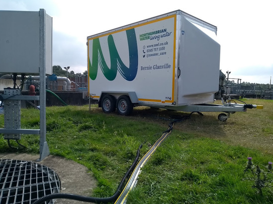 Bespoke analytical trailer built by PPM