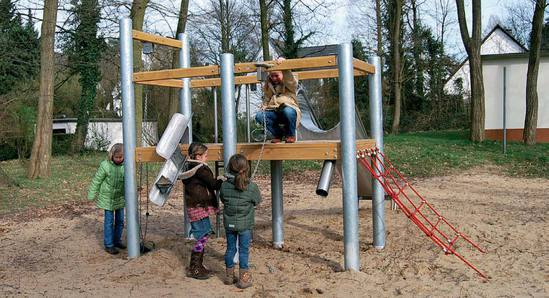 FHS Holztechnik Sand Play Leon 905820450