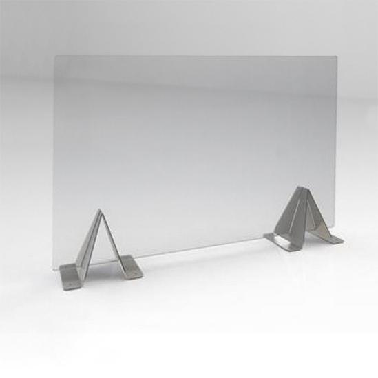 Desk top Perspex screen