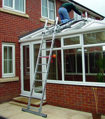 Access system for conservatory roofs