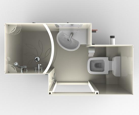 Non En Suite Bathroom: Bristol En Suite Bathroom Pod