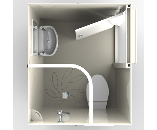 Jura en suite bathroom pod taplanes esi building design for Pod style bathroom