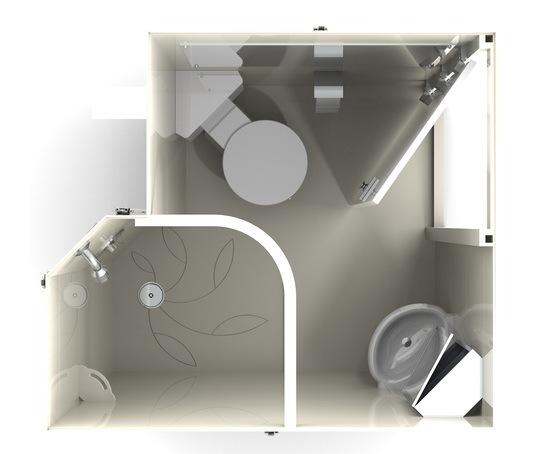 Ailsa pod - en suite bathroom pod