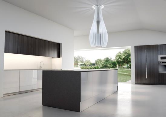 designer kitchen extractor fans