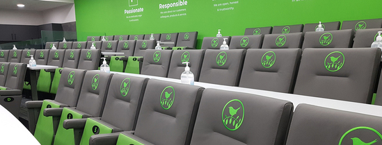 Primo Chairs for Wren Head Office