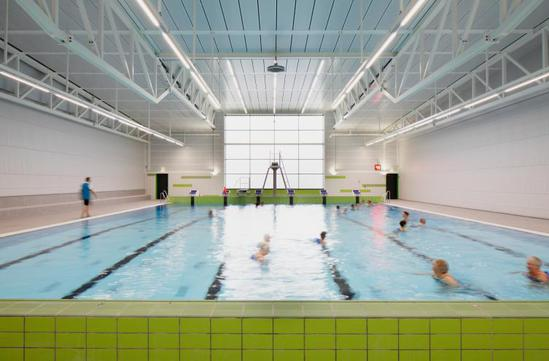 Led Pool And Ambient Lighting Public Leisure Facility