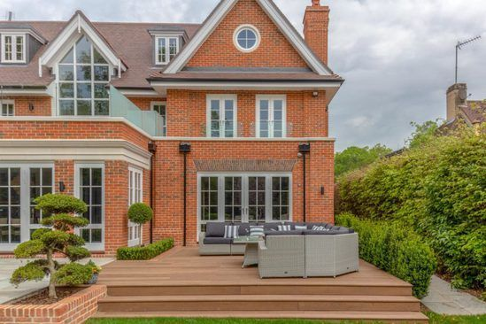 Millboard composite decking - luxury private residence