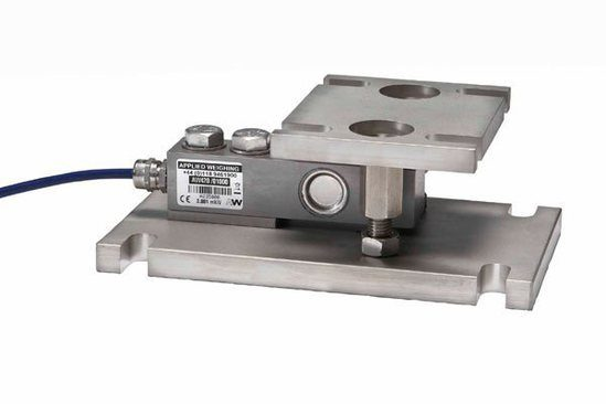 Cleanmount weighing assembly