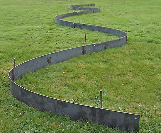 Everedge 174 Titan Galvanised Steel Landscape Edging