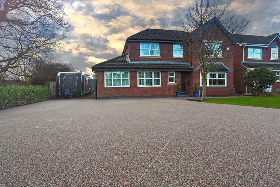Bound gravel driveway - Leyland