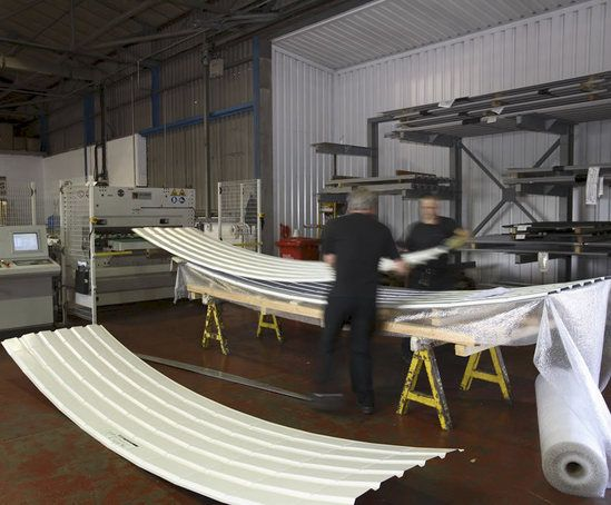 Metal Roof Liner Sheets Euroclad Esi Building Design