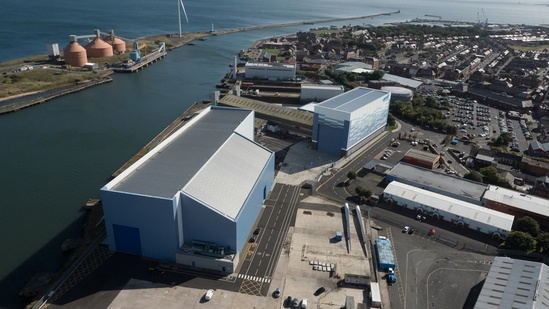 Roof cladding - renewable energy building
