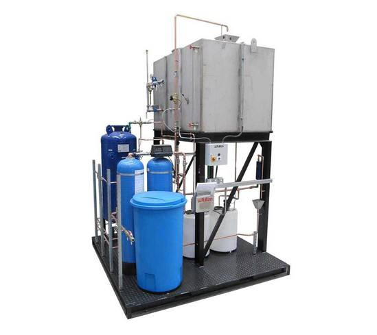 Steam Boiler Condensate Return System ~ Feed water and condensate return tanks fulton esi