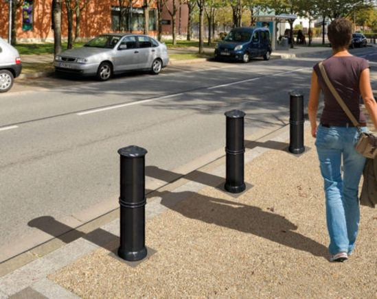 Agora cast iron fixed bollard