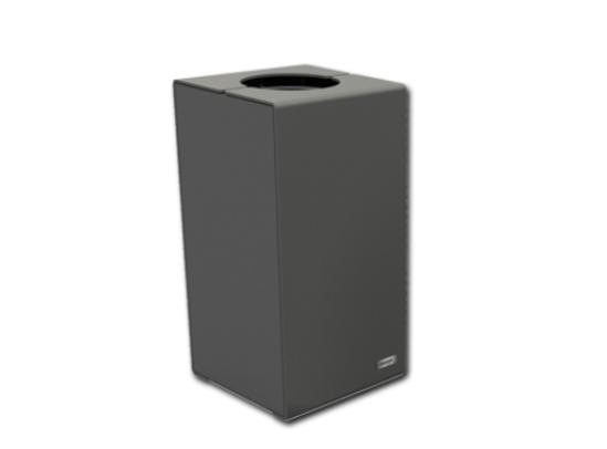 Primium design all steel litter bin - 100 L