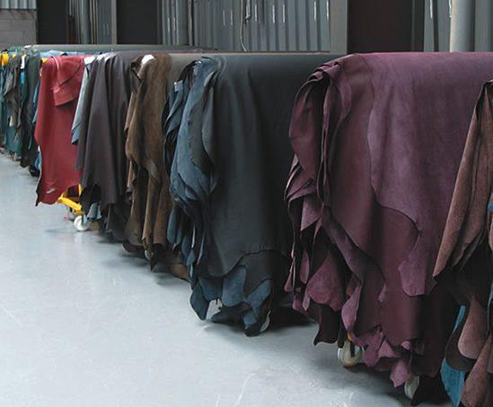 Finished leathers
