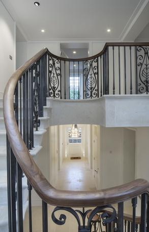 Balustrade for London client
