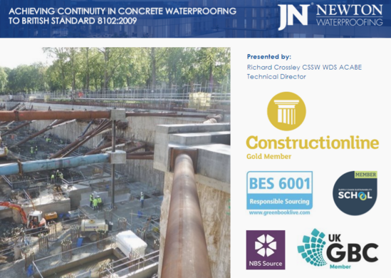 Achieving Continuity in Concrete Waterproofing