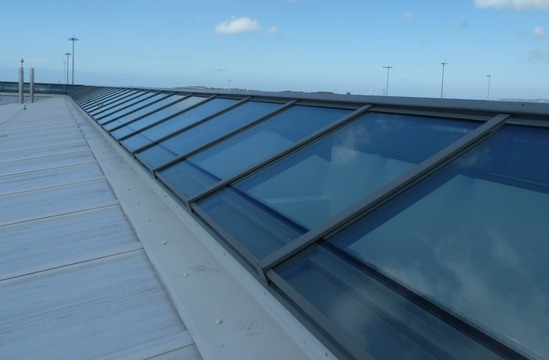 Skyline Box glazing - RAF Valley Anglesey