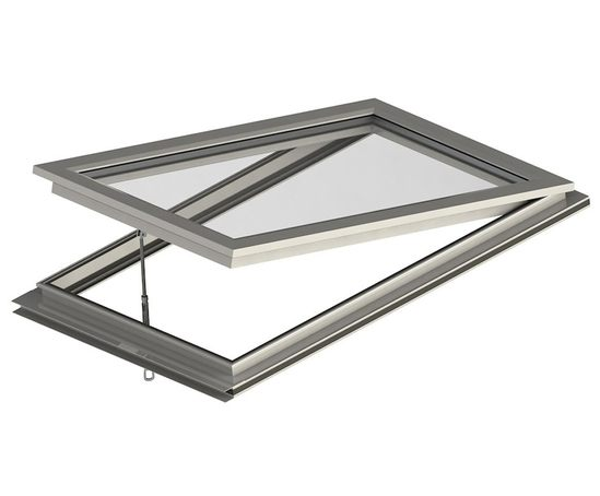 Thermally-broken opening rooflight vent