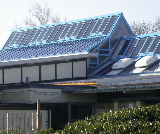 Skyline patent glazing system, Hook Primary School