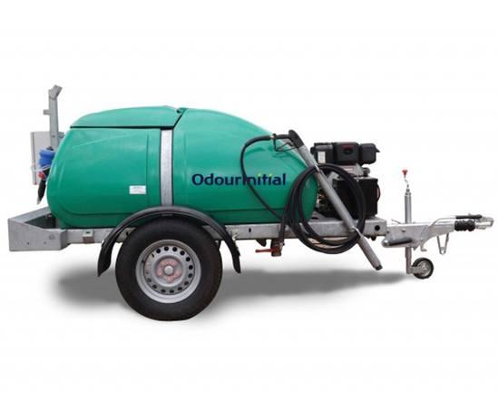 OdourInitial temporary mobile odour control unit