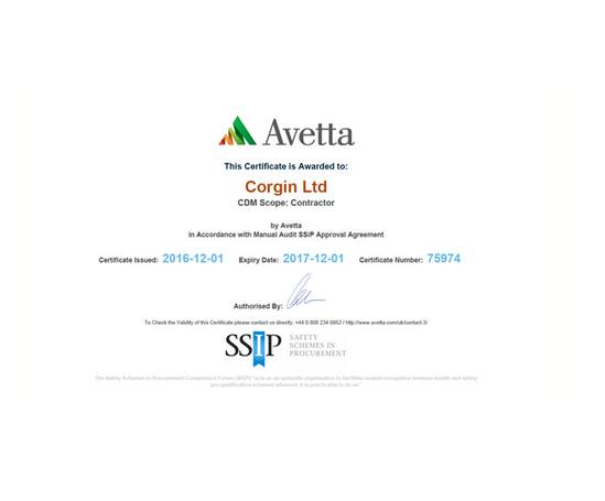 Avetta accreditation