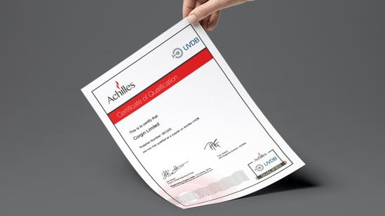 Achilles Award Corgin Excellent Results